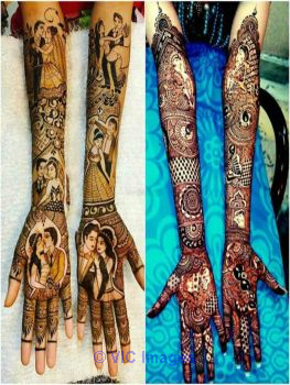Best Mehndi Artist in Delhi-Anuj Mehandi Art